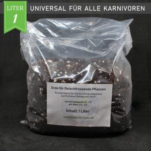 Fleischfressende Pflanzen Substrat 1 Liter