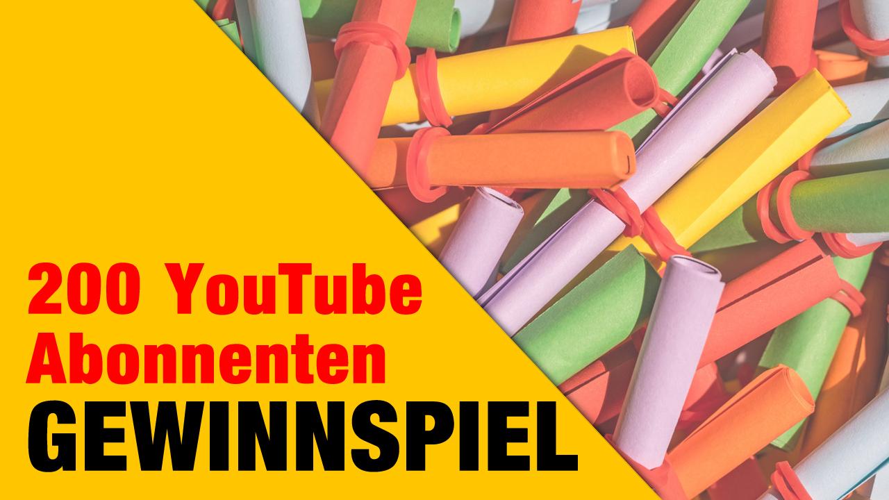 200 YouTube-Abonnenten-Special!